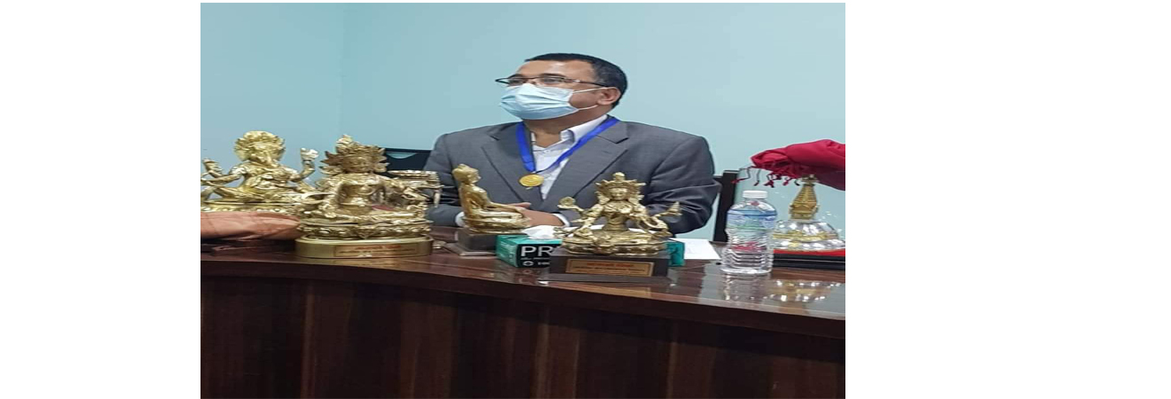 निर्देशक श्री दिलिप कुमार श्रेष्ठज्यू अवकाश भएकाे कार्यक्रमको दिन
